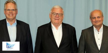 BVD-Vorstandswahlen: Lutz Müller als Präsident bestätigt