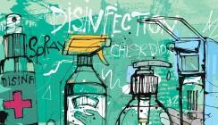 Desinfektionsmittel – Welche Mittel gegen Coronaviren wirken