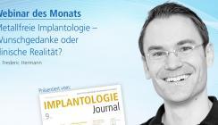 Webinar thematisiert metallfreie Implantologie