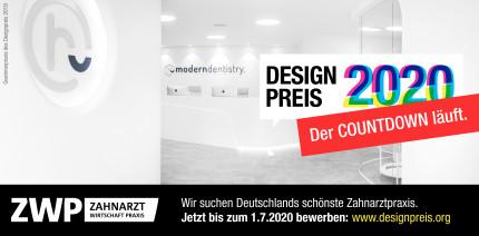 Frist endet bald: Jetzt für den ZWP Designpreis 2020 bewerben