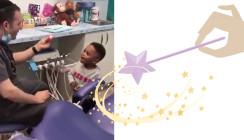 It's magic: Diesen Kinderzahnarzt lieben die Kids