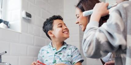 Zahnputzgewohnheiten von Kindern abhängig von Psyche der Mutter