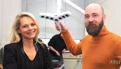 Transportable Kamera-Leuchten-Einheit für Multi-Channel-Streaming