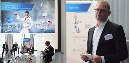 Zimmer Biomet lud zur Digital Arena nach München