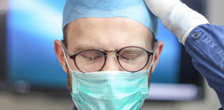 Ein Viertel des Gesundheitspersonals hat Angstsymptome