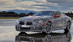 Neues BMW 8er Coupé bei der fahrdynamischen Erprobung