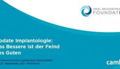 """Expertenrunde de luxe"" beim Oral Reconstruction Symposium"