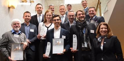 Gewinner der Celtra Campus Challenge 2016 auf der lDS geehrt
