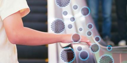 Infektionsweg: Coronavirus auf Oberflächen drei Tage intakt