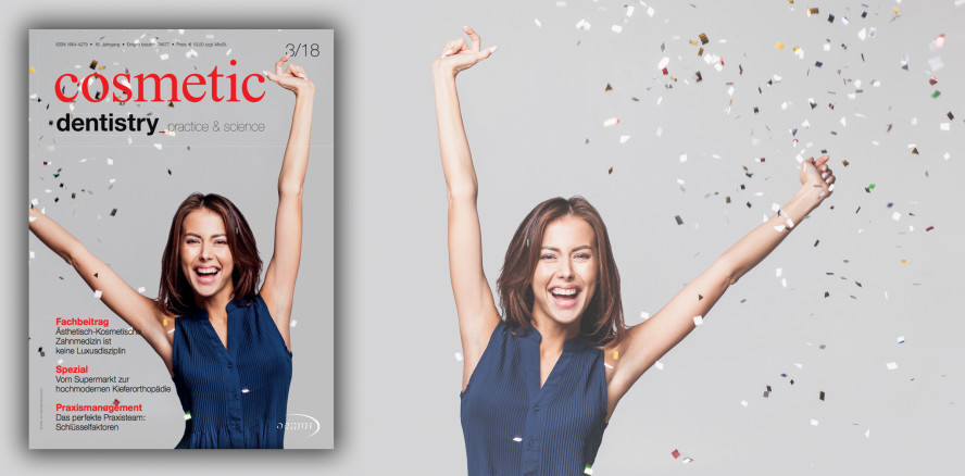 Aktuelle Ausgabe der cosmetic dentistry jetzt als ePaper lesen