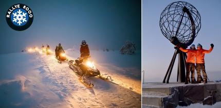 Dental Arctic Rallye: 8.000km, 9 Tage, 10 Länder, minus 40 Grad