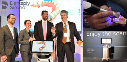 Dentsply Sirona: Intraoralscanner revolutioniert digitalen Workflow