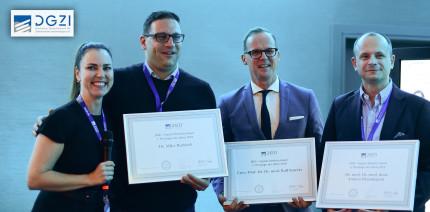 DGZI Implant Dentistry Award und Poster Award 2018 verliehen