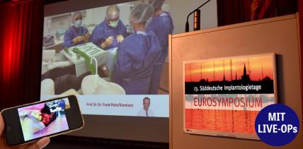 Heute Live-OPs: CME-Punkte beim EUROSYMPOSIUM sammeln