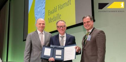 Ewald-Harndt-Medaille 2018 für Dr. Koschorrek