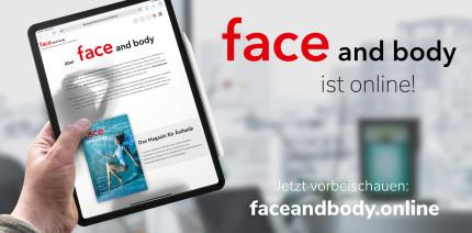 faceandbody.online: Fachmagazin jetzt mit eigener Website