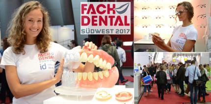 Glänzendes Gesamturteil: Fachdental Südwest 2017 mit Positiv-Fazit