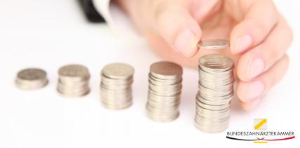 GOZ: BZÄK fordert Punktwertanhebung auf 13 Cent