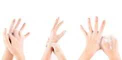Mit Handtuch und Seife gegen die Keime: Handhygiene im Alltag