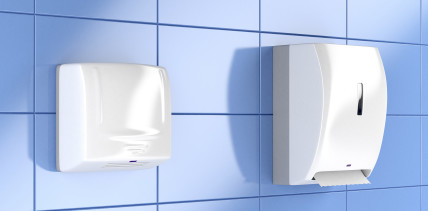 Papier oder Lufttrockner: Wer verteilt mehr Krankheitserreger?