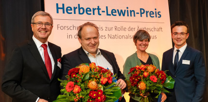 Zum siebten Mal: Herbert-Lewin-Preis 2019 verliehen