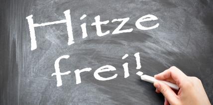 Kinderbetreuung bei Hitzefrei: Eltern können sich freistellen lassen