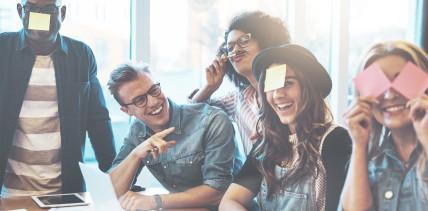 Stress im Job: Lachen ist immer noch die beste Medizin