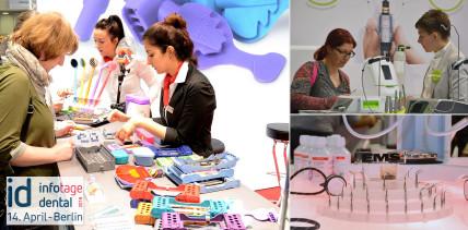 2.384 Besucher in Berlin: Positive Bilanz der id infotage dental