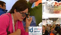 5.600 Fachbesucher bei den id infotagen dental in Frankfurt