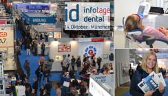 3.500 Besucher auf den id infotagen dental München