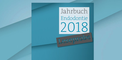"""Druckfrisch: """"Jahrbuch Endodontie 2018"""" ist soeben erschienen"""