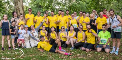 Ein Herz und eine Sohle: OEMUSianer starten beim Leipziger Firmenlauf