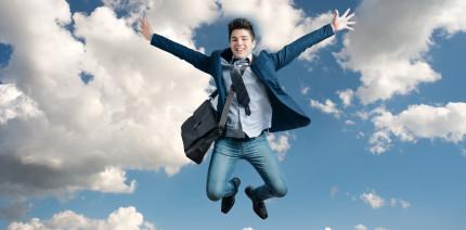 Wer glücklich mit seinem Job ist, fühlt sich auch privat wohler