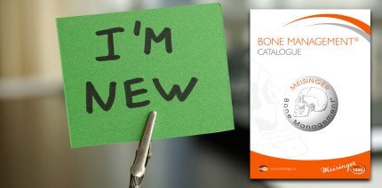Brandneu: Der Bone Management® Katalog der Hager & Meisinger GmbH