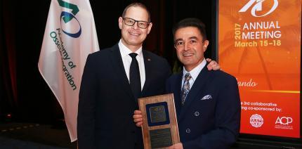 Hohe Auszeichnung für Prof. Dr. Fouad Khoury