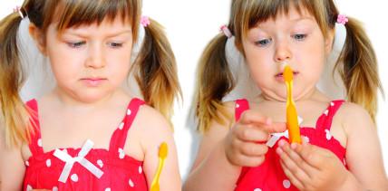 Vier von zehn Kindern ist das Zähneputzen zu langweilig