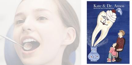 Kinderbuch: Kate & Dr. Amos - Eine Zahnarztgeschichte