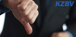 KZBV: Methodische Kritik an der Jahresstatistik des MDK