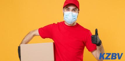 Schutzausrüstung für Zahnärzte in Schwerpunktpraxen auf dem Weg!