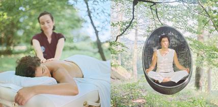 Wellbeing mitten im Wald: Entspannte Auszeiten im La Clairière