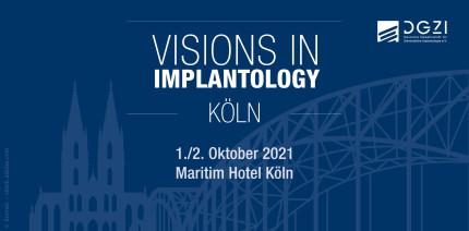 Zukunftskongress für die zahnärztliche Implantologie der DGZI im Oktober in Köln