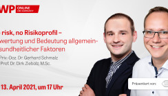 """No risk, no Risikoprofil"" – Live-Tutorial am Dienstag ab 17 Uhr"