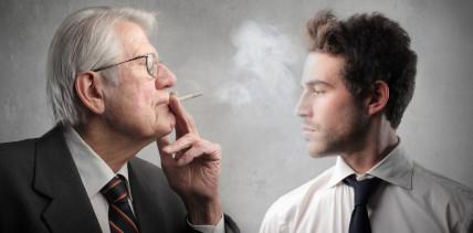 Krebsrisiko bei Nichtrauchern doppelt so hoch wie bei Rauchern