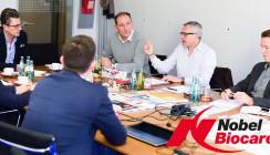 Gut aufgestellt für die Zukunft: Nobel Biocare zu Gast in Leipzig