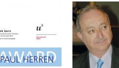 Prof. Dr. Adrian Becker mit Paul Herren Award 2017 ausgezeichnet