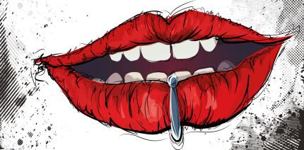 Körperschmuck, Piercings und Ähnliches in einer Zahnarztpraxis