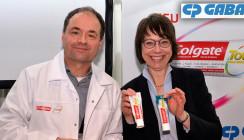 CP Gaba präsentiert eine Zahnpasta mit neuer Formel