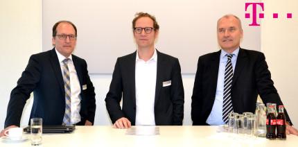 Deutsche Telekom lud zum Pressegespräch auf der IDS