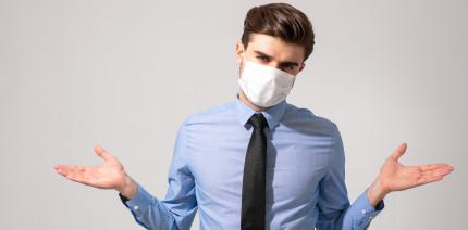 Arbeitgeber darf Mund-Nase-Bedeckung anordnen