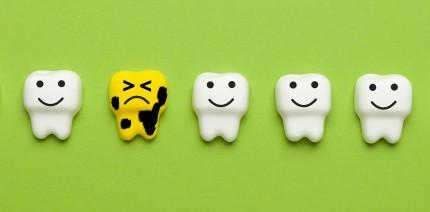 230.000 der Sechs- bis Neunjährigen haben Kreidezähne